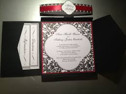 Red And Black Wedding Invitations Diy Wedding Invitation Kits The Best Wedding Picture Ideas 18