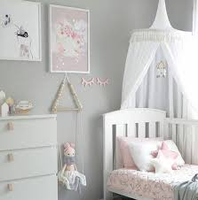 Princess Canopy Bed Shop White Grey Pink Princess Canopy Bed Curtains Hanging