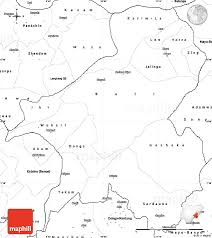 Blank Southwest Asia Map by Blank Simple Map Of Taraba