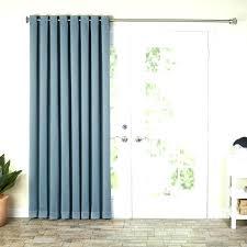 curtains for slider doors curtains for slider doors basics solid blackout grommet single curtain panel blackout