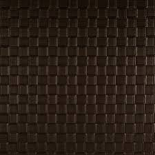 luxury faux leather basketweave brown discount designer fabric