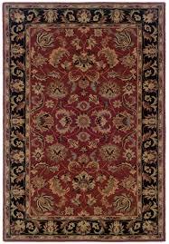 Black Persian Rug Rugs Express Windsor Sphinx 23102 Red Black Oriental