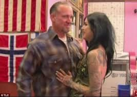 kat von d gets tattoo of cheating ex jesse james u0027 face zapped off