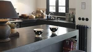 plan de travail cuisine beton beton ciré sur plan de travail cuisine avis
