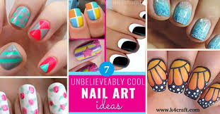 simple and easy nail art tutorial step by step k4 craft
