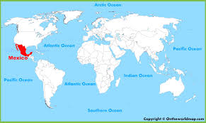 map of mexico with states mexico maps of united mexican states with city on the map creatop me