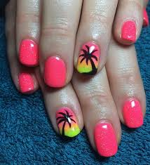 easy and cute summer nail art ideas 5waysto net beauty nail