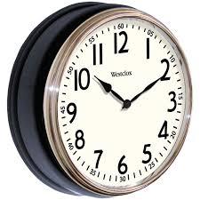 amazon com westclox 32041w round vintage kitchen classic clock