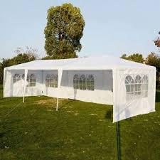 Patio Tent Gazebo Equipment Outdoor Canopy Tent Heavy Duty Gazebo 10 X 30
