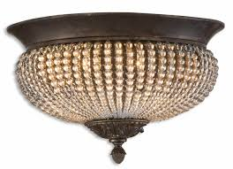 Crystal Flush Mount Lighting Different Design Of Flush Mount Light Fixtures All Home Decorations