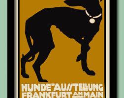 art deco dog ring holder images Art nouveau etsy jpg