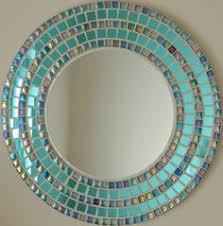 Mosaic Bathroom Mirrors by Starburst Round Mosaic Mirror Mosaic Mirrors Mosaics And Rounding