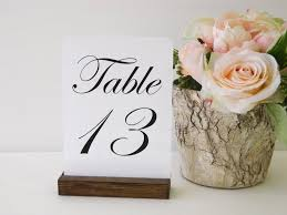wedding table number holders table number holder rustic wedding rustic wood table number