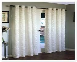 Patio Door Curtain Rod Sliding Glass Door Curtain Rod Curtain Glamorous Sliding Glass