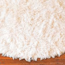 Flokati Wool Rug Flokati Rug Round