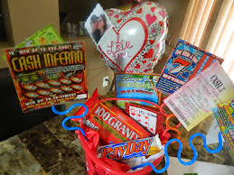 Gift Basket Business Ideas Of Scratch Off Lottery Ticket Gift Basket House Design