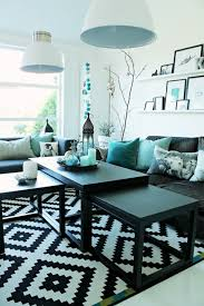 Blue And Black Living Room Decorating Ideas 25 Turquoise Living Room Design Inspired By Beauty Of Water