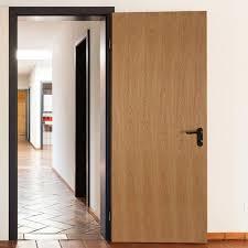 Oak Veneer Bedroom Furniture by Prestained Flush Oak Veneer Ul 20 Minute Fire Door For Hotel