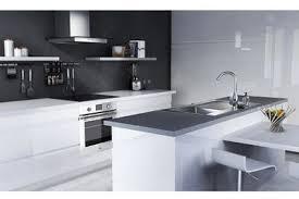 cuisine blanche et grise modele cuisine blanche chambre gris taupe et beige cuisine photo