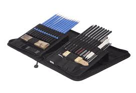 castle art supplies graphite drawing pencils and sketch set 40