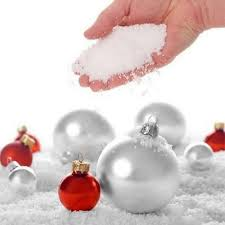 diy christmas wedding party decoration fake winter super magic