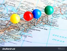 A Map Of United States West Coast Usa Map Stock Photos West Coast Usa Map Stock Images