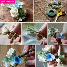 How To Make Boutonnieres Diy Boutonniere U2013 Afloral Com