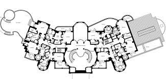 mansion floorplans interesting bedroom and bathroom shapes architecture
