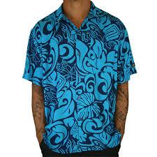 aloha shirt navy hulakai surfboards and sup paddleboards hawaii