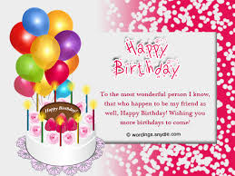 Happy Birthday Wishes To Images Happy Birthday Wishes And Messages Wordings And Messages