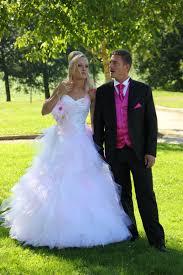 robe de mari e robes de mariée tulle la fée corsetée