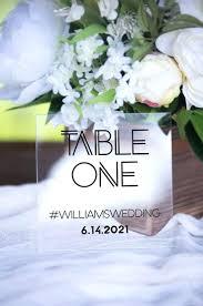 acrylic table numbers wedding diy acrylic table numbers diy unixcode