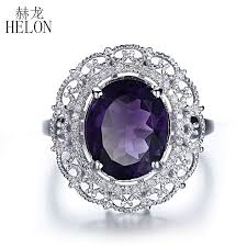 Amethyst Wedding Rings by Online Buy Wholesale Amethyst Wedding Ring From China Amethyst