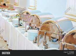 catering service metal buffet image u0026 photo bigstock