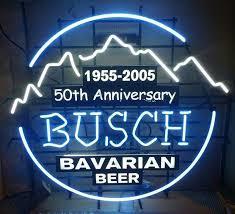 busch light neon sign busch bavarian beer neon sign real neon light for sale hanto neon sign