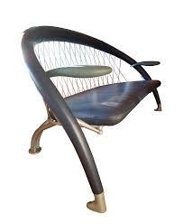 andrea branzi for cassina mid century modern memphis sofa chairish