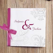 muster einladungen hochzeit klassische grau muster und rosa schleife hochzeitskarten opl016