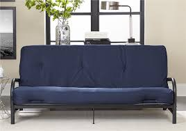 dhp furniture value 8 inch full size poly filled futon mattress