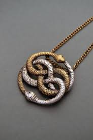 necklace snake images Auryn necklace infinite snake necklace snake jewelry snake knot jpg