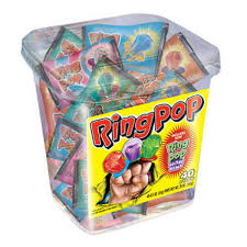Where To Buy Ring Pops Ring Pop Comes With Exciting Flavors Cherry Watermelon Blue