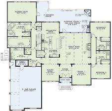 european style house plan 4 beds 4 baths 3766 sq ft plan 17