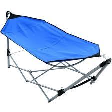 Hi Gear Folding C Bed Home Decoration Remarkable Blue Portable Folding Hammock Bed