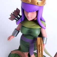 clash of clans archer queen 6 7
