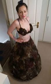 female pubic hair around the world this woman made a dress made of pubic hair mtv uk