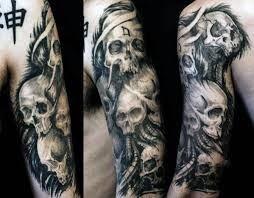 evil skull tattoos tattoo collections