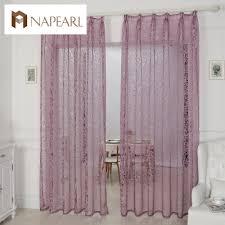 Elegant Living Room Curtains Online Get Cheap Burnout Organza Fabric Aliexpress Com Alibaba