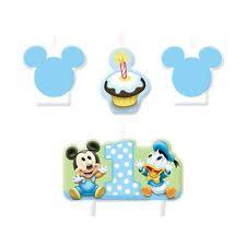 baby mickey 1st birthday baby mickey 1st birthday candle ebay