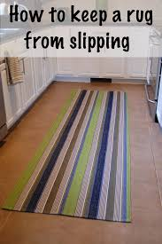 Gel Rugs For Kitchen Keep A Rug From Slipping Diy Project Aholic