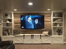custom built tv wall units brown cabinet with tv stand 3 seats