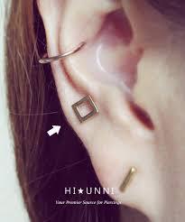 ear earring 16g square cartilage earring helix conch tragus ear piercing